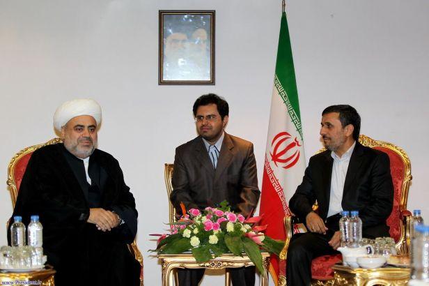 20-President AHMADINEJAD meets AZERBAIJANI Official