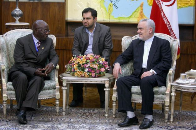 22-Vice President RAHIMI meets his Kenyan counterpart
