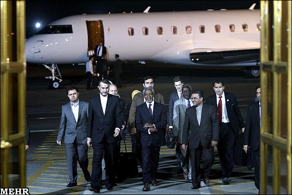 Kofi Anna visits Iran(1)