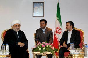 president AHMADINEJAD meets AZERBAIJANI Official