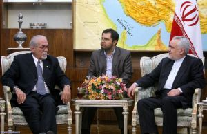 vice president RAHIMI meets his counterpart from Saint Vincent